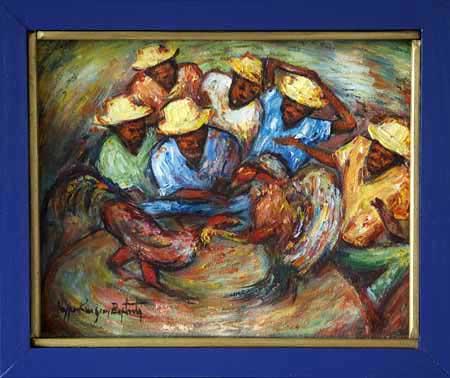 Haitian  on Haitian Art By Nyperking Jean Baptiste
