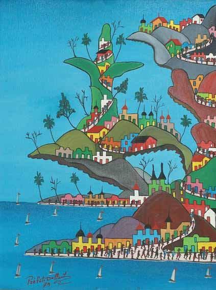 Haitian Paintings By Prefete Duffaut From Galerie Macondo