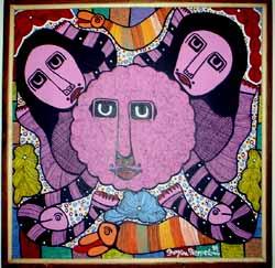 Prosper Pierre-Louis Haitian Art by Prospere PierreLouis from Macondo